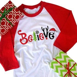 Believe Christmas shirts